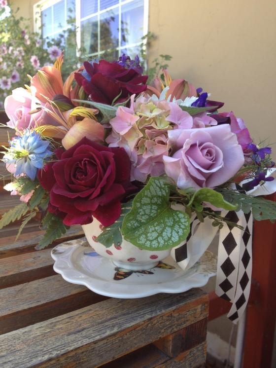Garden Teacup